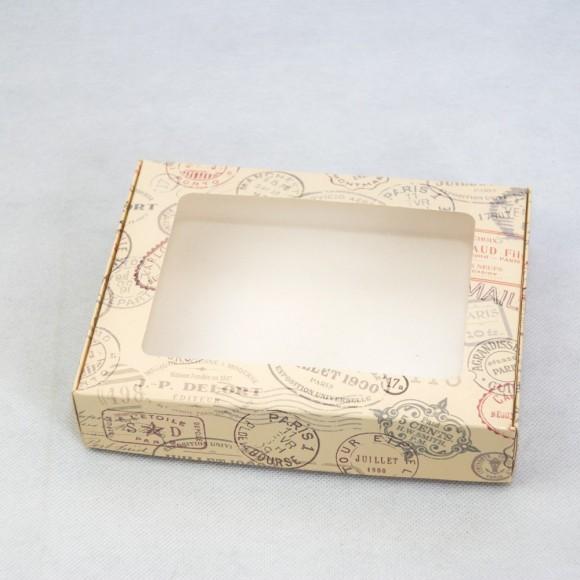 Коробка для печенья,пряников с окошком 192х148х40 мм Печати.Купить в Харькове,Киеве по лучшей цене в интернет- магазине Тортодел