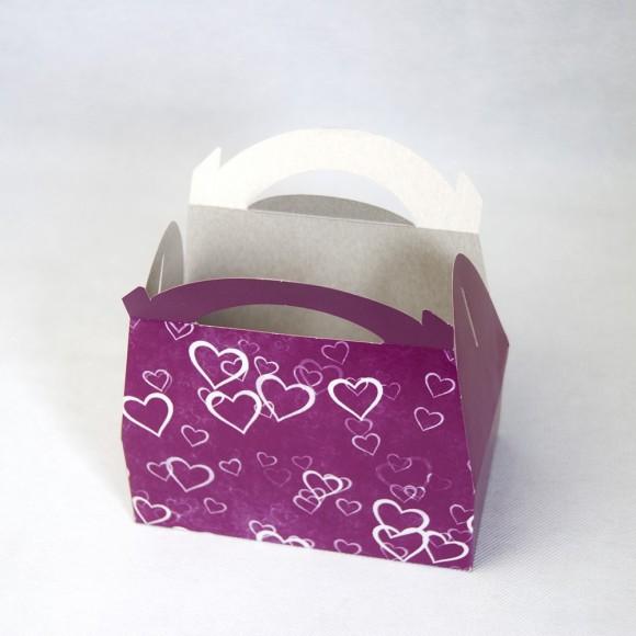 Коробка Сундучок 170х120х80 Фиолет.Купить в Харькове,Киеве по лучшей цене в интернет- магазине Тортодел