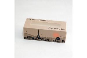 Коробка для Макаронс Paris 141х59х49 мм