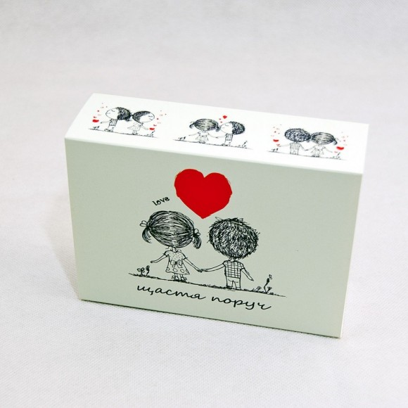 Коробка для Макаронс 115х155х50 Счастье рядом с окном (на 12 шт).Купить в Харькове,Киеве по лучшей цене в интернет- магазине Тортодел