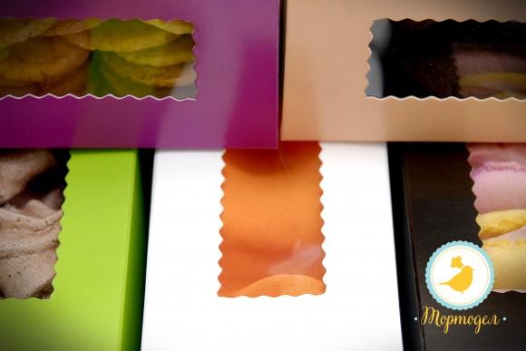 Коробка для макаронс фиолетовая  141х49х59 мм.Купить в Харькове,Киеве по лучшей цене в интернет- магазине Тортодел
