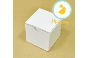 Упаковка на 1 кекс размер  8,5х8,5х8,5 см
