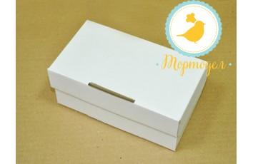 Упаковка на 2 кекса размер 19,5х10х8 см