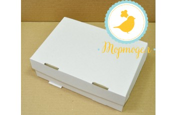 Упаковка на 6 кексов размер 25х17х8 см