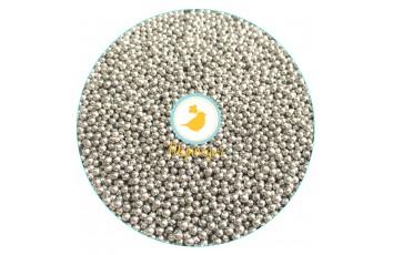 Сахарные шарики Серебрянные 2 мм, 100г