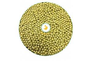 Сахарные шарики Золотые 3 мм, 100 г
