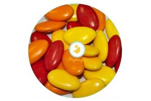 Декор съедобный шоколадный Осень (Autunno) 100г