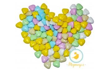 Сердца разноцветные 20-22мм 50 г
