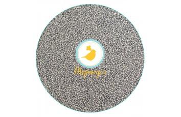 Нонпарель  перламутровое серое d-1 мм ,50 г