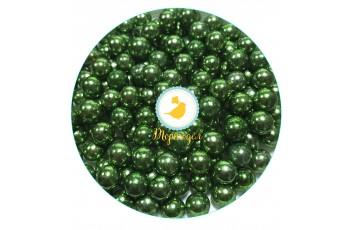 Шарики Зеленые 8 мм - 50 г