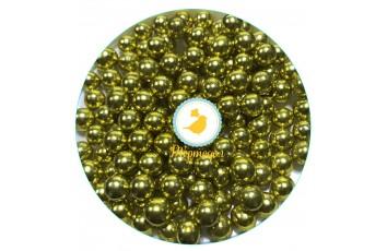 Шарики Золотые 8 мм - 50 г