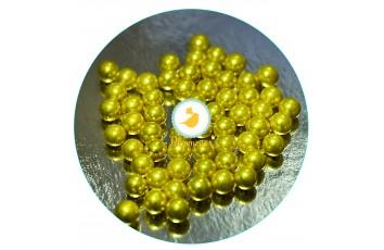Сахарные шарики Золотые 7 мм, 100г