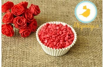 Сердечки красные Украса 50 г