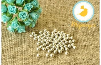 Сахарные шарики Серебряные 7 мм, 50г
