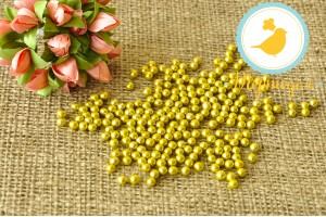 Сахарные шарики Золотые 5 мм, 100г