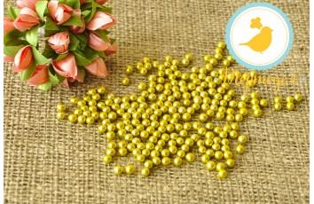 Сахарные шарики Золотые 5 мм, 20г