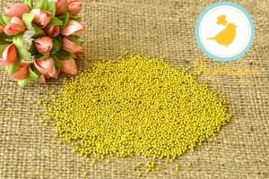 Сахарные шарики Золотые 1 мм, 100г