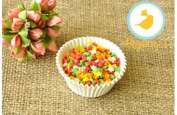 Цветочки разноцветные  Украса 50 г №5