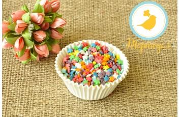 Цветочки разноцветные  Украса 50 г №4