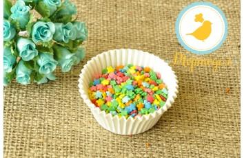 Цветочки разноцветные  Украса 50 г №1
