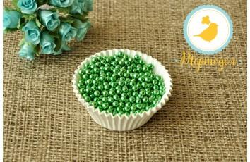 Сахарные шарики Салатовые 5 мм, 50г