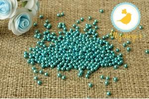 Сахарные шарики Голубые 5 мм, 100г