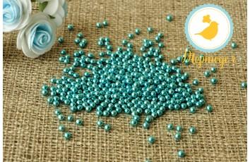 Сахарные шарики Голубые 5 мм, 20г