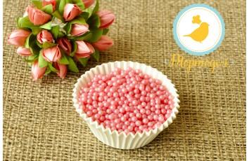 Жемчуг Розовый 3 мм, 100г