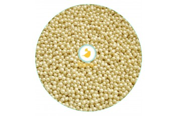 Рисовые шарики белые перламутровые  3 мм 20 г
