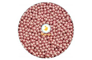 Сахарные шарики Розовые 5  мм, 20 г