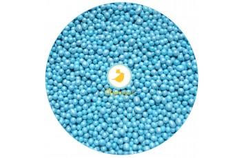 Жемчуг голубой  d-5 мм,50 г