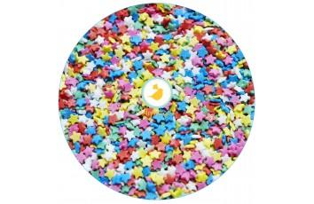 Посыпка Звездочки разноцветные мини Топ-продукт, 50г