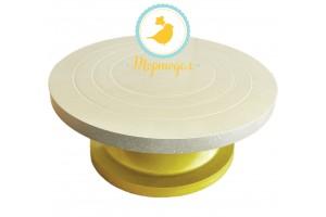 Подставка крутящаяся для работы с тортом 300*150 мм