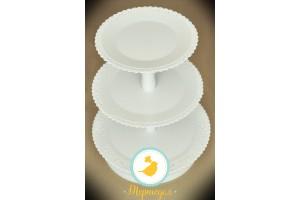 Подставка под торт (капкейки) 3 яруса