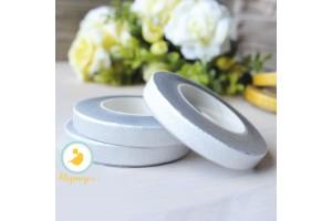 Тейп-лента серебряный металлик