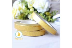 Тейп-лента золотой металлик