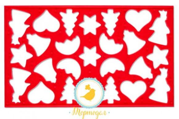 Вырубка-планшетка ассорти для печенья.Купить в Киеве,Харькове и Украине по лучшей цене в интернет магазине Тортодел