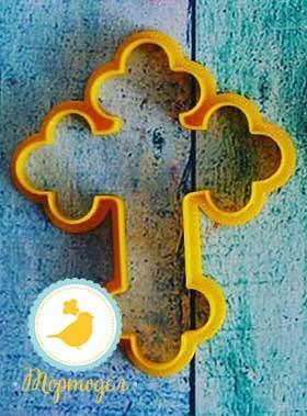 Вырубка для пряника Крест №2.Купить в Киеве,Харькове и Украине по лучшей цене в интернет магазине Тортодел