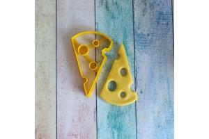 Вырубка для пряника Кусочек сыра №1