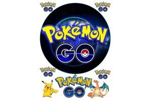 Вафельная картинка Pokemon Go № 1