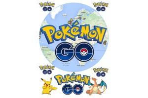 Вафельная картинка Pokemon Go №4