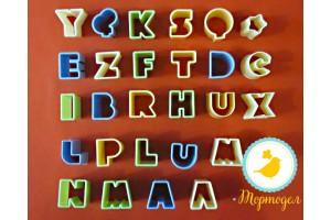 Вырубка алфавит английский