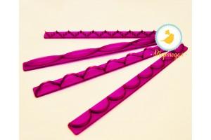 Набор вырубок Бордюр из 4 ед. №1 (фиолетовый)